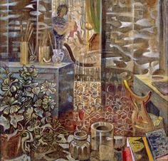 Studio in Paris - Nikos Hadjikyriakos-Ghikas Modern Art, Contemporary Art, Benaki Museum, Greek Paintings, Street Art, Hellenistic Period, Virtual Museum, Art Database, Classical Art