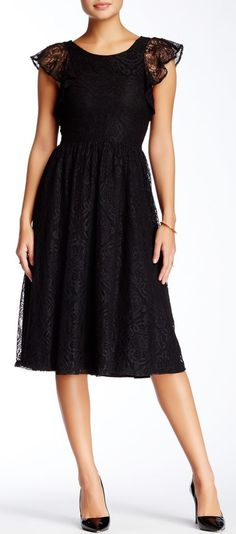 Allison Collection | Lizzet Lace Dress | Sponsored by Nordstrom Rack.