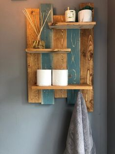 Toilet Paper, Things To Do, Shelves, Bathroom Ideas, Etsy, Home Decor, Dress, Pallet Shelves, Country Home Decorating