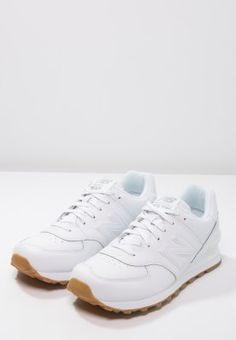 Baskets basses New Balance NB574 - white blanc