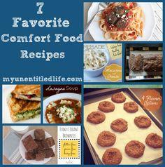 favorite comfort food recipes