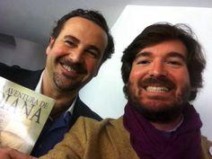 """Con Javier Fernández-Piera, de cookingideas en el Dia de la Innovación 2014. """"entre creativos anda el juego""""; It takes One to recognize each other."""