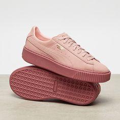 puma basket platform reset womens sneaker gray violet. Black Bedroom Furniture Sets. Home Design Ideas