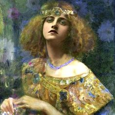 Gaston Bussiere加斯頓,比西耶爾。「俄國女畫家Marie Bashkirtseff的畫像」嬴得Bashkirtseff奬。此女為俄國旅法著名日記作家、畫家,死於巴黎,墳墓為法國歷史遺蹟。