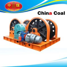 Product Introduction  JZ series sinking winches are used in coal mine, metal mine, non-metallic mine for hanging the swaying tray, water pump, air compressor, grouting tube, wind-cone and other excavation facilities, also can use for hanging heavy loads on surface and underground. mine winch with hydraulic thrust Failsafe