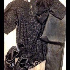 All black everything! #jbrand #calvinrucker