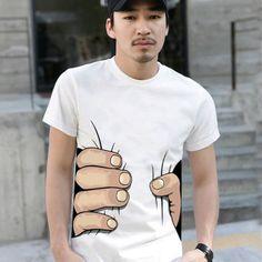 Camiseta apertadinha