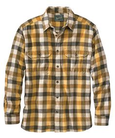 Men's Oxbow Bend Plaid Flannel Shirt - Medium