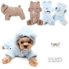 Perfect for cooler days inside and out this BBOBBO Bodysuit comes in a version… Boy Dog Clothes, Dog Clothing, Small Dog Clothes, Dog Jumpers, Dog Clothes Patterns, Yorkie Puppy, Dog Sweaters, Dog Coats, Baby Dogs