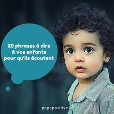 20 sentences to tell your children for - - Education Positive, Kids Education, Communication Positive, French Class, Teaching French, Learn French, Children And Family, Positive Attitude, Classroom Management