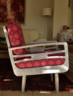 Old Styles, New Fabrics: Funky Reupholstered Chairs | Apartment Therapy