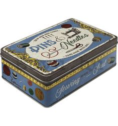 Are you looking for nostalgic gift items or vintage products? From tin sign, tin boxes, thermometers to beautiful mugs - We love Retro! Metal Box, Metal Tins, Wild Star, Nostalgic Art, Garage Shed, Benz S, Sewing Box, Tin Boxes, Star Designs