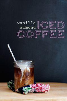 Vanilla-Almond Iced Coffee / Cindy Ensley // Hungry Girl por Vida