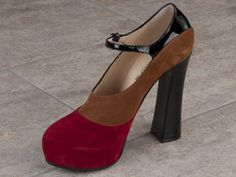 Red Black, Black And Brown, Italian Shoes, Pumps, Heels, Designer Shoes, Mary Janes, Cyber, Peep Toe