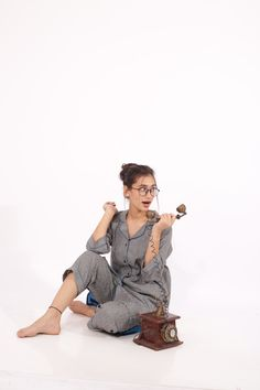 Women's nightsuits just got a lot comfier with our long night shirt and cropped Pyjama set. Indian Textiles, Resort Wear, Designing Women, Pajama Set, Kurti, Lounge Wear, Comfy, Night, Lady