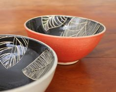 Cumbuca artesanal de cerâmica