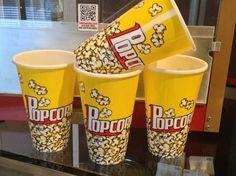 HTD Canada Old Fashion Small Popcorn Bowl Set