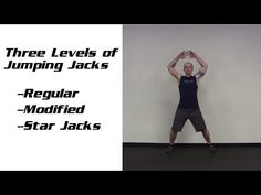 Bodyweight Exercise: 3 Levels of Jumping Jacks - JohnnyFit