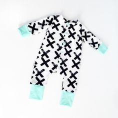 Baby romper, modern baby, baby boy coming home outfit