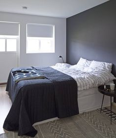 Shades of blue Jotun Paint, Jotun Lady, Grey Interior Design, Beautiful Bedrooms, Color Trends, Shades Of Blue, Colorful Interiors, House Doctor, Paint Colors