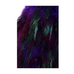 Purple Faux Feather Skirt (41 AUD) ❤ liked on Polyvore featuring skirts, purple skirt, elastic band skirt, high waisted circle skirt, embellished skirts and high-waisted flared skirts
