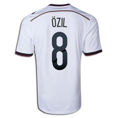 ADIDAS M. OZIL GERMANY 4 STAR HOME JERSEY FIFA WORLD CUP 2014 CHAMPIONS.