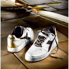 Diadora Heritage B-Elite Kangaroo Skin Leather Mens Trainers in White in Clothes, Shoes & Accessories, Men's Shoes, Trainers | eBay