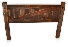 I see a new headboard from the reclaimed wood in our attic.... oh yes!