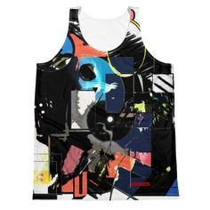 This tank top has everything you could possibly need – vibrant colors, soft material and a relaxed fit that will make you look fabulous! Stretchy Material, Vibrant Colors, Tank Man, Unisex, Tank Tops, Halter Tops, Vivid Colors