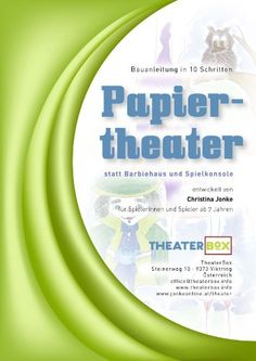 Theatre, Literature, Boards, Form, Paper, Theatre Plays, Theater For Young Audiences, Holiday Program, Barbie Home