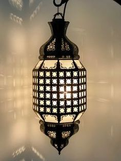 Medina Lantern Large White Moroccan Lamp, Moroccan Lanterns, Moroccan Inspired Bedroom, Clear Light Bulbs, Electrical Fittings, Neutral Colors, Colours, Ceiling Rose, Red Glass