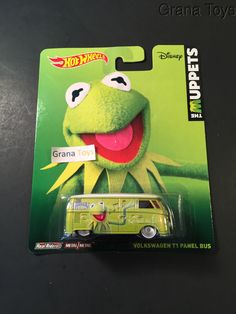 Volkswagen T1 Panel Bus Kermit Hot Wheels 2014 I still need this one_never found it at all