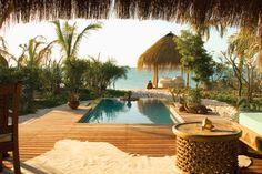 Azura —on Benguerra Island, one of the six small islands of the Bazaruto Archipelago in Mozambique.