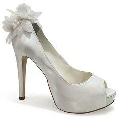 Peep Toe Belmon Noivas - 13151 - Branco - 33 ao 43 - Sapatos Femininos, Sandálias, Peep Toes, Calçados em Numeração Especial - Sapato Show