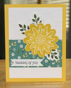 Stampin' Up! ... hand crafted card ... Card Creations by Beth