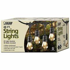 Feit Outdoor Weatherproof String Light Set, Black, 48 ft,... https://www.amazon.com/dp/B077XJP51D/ref=cm_sw_r_pi_dp_U_x_murqBbB2RSN2S