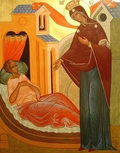 """The History of the Icon of the Mother of God """"The Healer"""" or """"Tselitel'nitsa""""    Learn more: http://catalogueofstelisabethconvent.blogspot.com.by/2017/10/the-history-of-icon-of-mother-of-god.html     #CatalogOfGoodDeeds   #OrthodoxBlog   #Orthodoxy"""