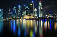 Singapore Skyline by rdgelisanga, via Flickr