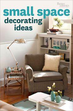 Make a small space beautiful.