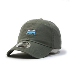 Camper Classic Washed Cotton Twill Low Profile Adjustable Dad Hat Baseball Cap