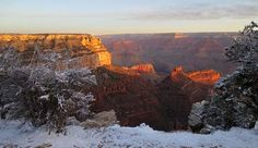 Grand Canyon National Park, Winter