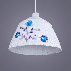WIOSNA WE WNĘTRZACH Lampa wisząca Industrial Folk z wikliny papierowej | http://dekoeko.com/product/lampa-wiszaca-industrial-folk/ | Kup na www.dekoeko.com