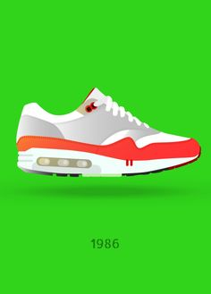 Displate Poster Air Max air #max #nike #1986 #sneaker #superstar #shoe #mrjackpots