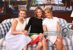 AMERICA - Candace Cameron Bure, Jodie Sweetin and Andrea Barber of 'Fuller House' are guests on 'Good Morning America,' 2/24/16, airing on the ABC Television Network. BURE
