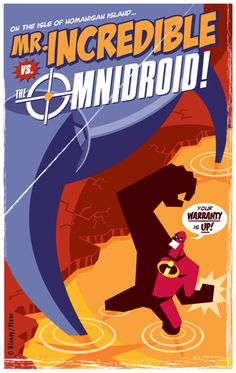 *THE INCREDIBLES, Poster, 2004