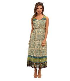 Angie Printed Maxi Dress #Styleby6pm #sponsored