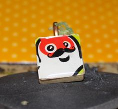 Cute Pirate Ghost & Devil Ghost Scrabble Tile Pendants by GreyGyrl, $8.00