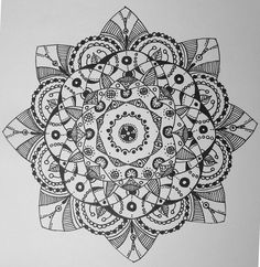 Mandala by ice-angel13.deviantart.com on @deviantART