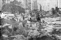 """""""O aspecto urbanístico da Capital vem sofrendo constante transformação com o alargamento de antigas ruas. As obras da Amaral Gurgel, já em fase final, emprestaram nova fisionomia ao local."""" // Blog do Ralph Giesbrecht: A SÃO PAULO DE 1966 (CINQUENTA ANOS ATRÁS)"""