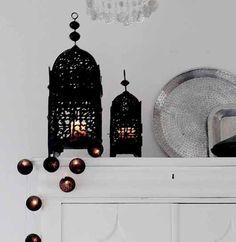 Lantaarn Zwart Marokko